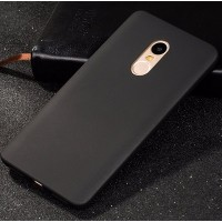 Силиконовый бампер Becolor TPU Case 1mm Black Mate для Xiaomi Redmi Note 4