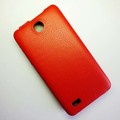 Чехол книга Armor Case Red для Lenovo A766(#3)