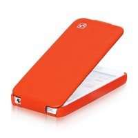 Кожаный чехол HOCO Duke leather case Red для Apple iPhone 5/5S/5SE
