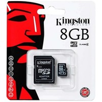 Карта памяти Kingston Canvas Select Micro SDHC UHS-1 8Gb