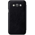 Кожаный чехол Nillkin Qin Leather Case Black для Samsung Galaxy E7(#2)