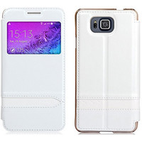 Полиуретановый чехол Usams Merry Series White для Samsung G850 Galaxy Alpha