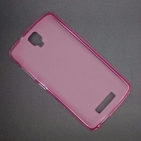 Силиконовый бампер Becolor TPU Case 1mm Pink для ZTE Blade L5/L5 Plus