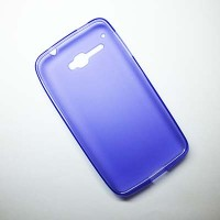 Силиконовый чехол Becolor Purple Mat для Alcatel One Touch X POP 5035X
