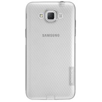 Силиконовый чехол Nillkin Nature TPU Case Grey для Samsung G720 Galaxy Grand Max