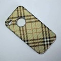 Пластиковый чехол Hardshell Case Burberry View 2 для Apple iPhone 4/4S(#1)