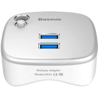 USB-хаб Baseus Notebook Expansion Dock ACBOOK1-0S (White)